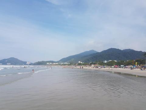 Praia Grande de Ubatuba
